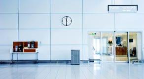 Téléphones d'aéroport Photo stock