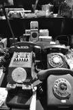 Téléphones de cru Images libres de droits