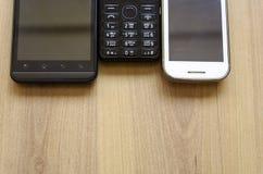 Téléphones mobiles Image libre de droits