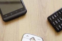 Téléphones mobiles Image stock