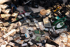 Téléphones portables Photo libre de droits