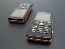 Téléphones portables Image stock