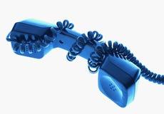 Téléphonez le récepteur Photo libre de droits