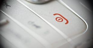 Téléphonez outre du bouton Photo libre de droits
