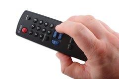 Télévision à télécommande photo libre de droits
