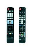 Télévision à télécommande Photos libres de droits