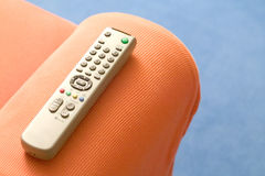 Télévision à télécommande photographie stock