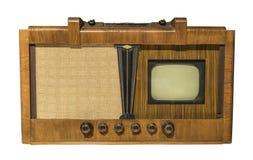 Télévision électronique Production en 1948 Photographie stock