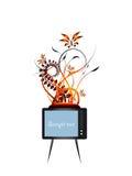 Télévision illustration de vecteur