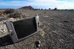 Télévision cassée Image libre de droits