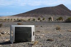 Télévision cassée Photos libres de droits