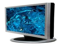 Télévision d'affichage à cristaux liquides photographie stock