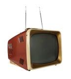 Télévision de cru image stock