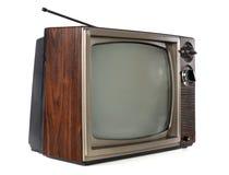 Télévision de cru images libres de droits
