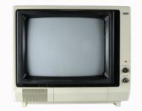 Télévision de cru images stock