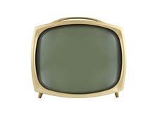télévision de cru des années 50 Photographie stock libre de droits
