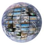 télévision de technologie de production d'Internet Images stock