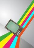 Télévision de vintage Photos libres de droits