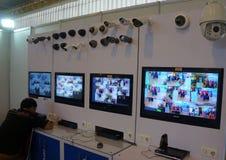 Télévision en circuit fermé Photo stock