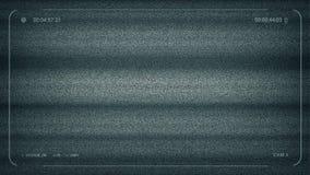 Télévision en circuit fermé aucune charge statique de signal banque de vidéos