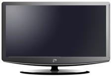 Télévision panoramique d'affichage à cristaux liquides illustration de vecteur