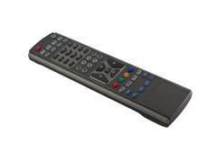 Télévision par satellite à télécommande Photos libres de droits
