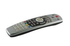 Télévision par satellite à télécommande Image libre de droits