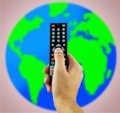 Télévision par satellite Photographie stock libre de droits