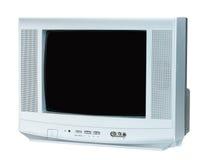 Télévision sur le fond blanc Photo stock