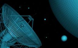 Télescope Illustration de Vecteur