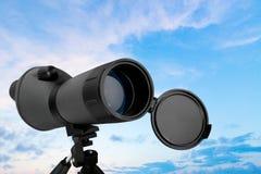 Télescope d'astronomie image libre de droits