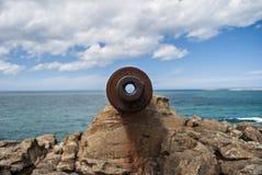 Télescope de mer Photo stock