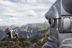Télescope de montagne images stock