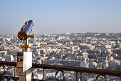 Télescope de Paris Photos stock