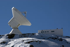 Télescope et observatoire photos libres de droits