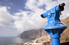 Télescope et seaview image libre de droits