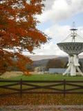 Télescope, observatoire national de radioastronomie de banque verte images libres de droits
