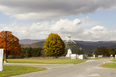 Télescope, observatoire national de radioastronomie de banque verte, WV photo stock