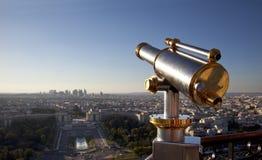 Télescope Paris Images stock