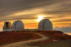 Télescopes Images stock
