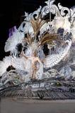 TÉNÉRIFE, 12 FÉVRIER : Le moulage de la Reine Soraya Rodríguez de carnaval Images stock
