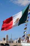 TÉNÉRIFE, LE 13 SEPTEMBRE : Le bateau d'école mexicain s'est accouplé au port o Photo stock