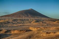 Ténérife, montagne d'Amirilla, secteur du sud photo stock