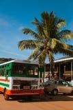 Término de autobuses Fotos de archivo libres de regalías