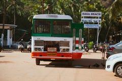 Término de autobuses Imágenes de archivo libres de regalías