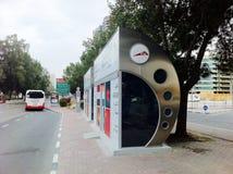 Término de autobuses de Dubai fotografía de archivo libre de regalías