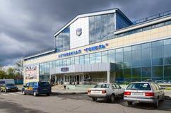 Término de autobuses Gomel, Bielorrusia Foto de archivo libre de regalías