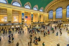 Término de Grand Central en New York City Fotos de archivo
