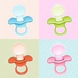 Tétine de bébé de Colorfull Photo stock