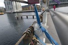 Tétines sur le pont Images stock
